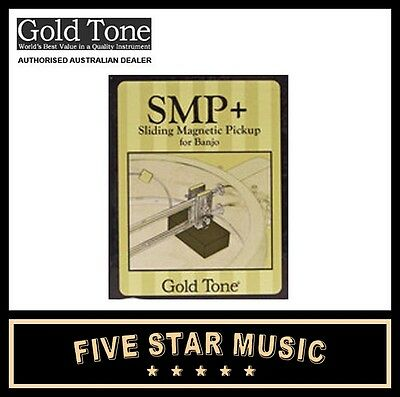Goldtone Smp+ Banjo Sliding Magnetic Pickup Smp Plus - New Gold Tone