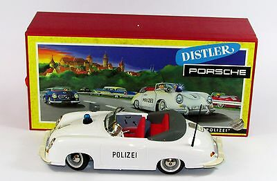 Porsche Distler Electromatic 7500 Polizei White N°00213 Scala 1/15 Schuco