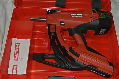 Gx 120 Brand New Hilti Gas-Actuated Tool Gx 120-Me, With Many Free Hilti Items