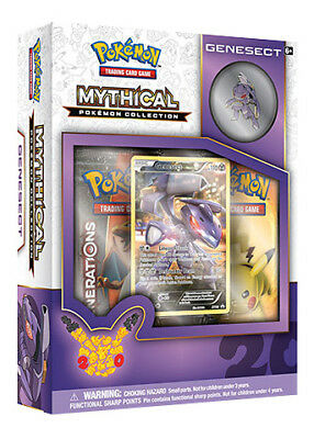 Pokemon Mythical Collection - Genesect Box Edizione Inglese