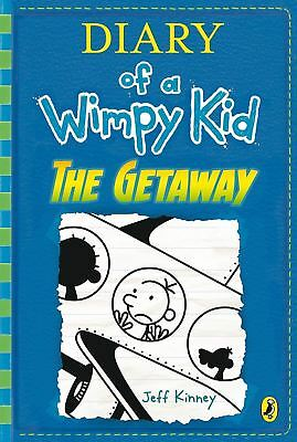 PRE-ORDER: Diary of a Wimpy Kid: The Getaway (book 12) by Jeff Kinney - 07/11/17