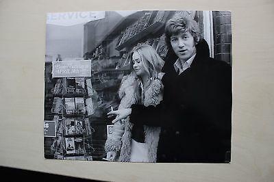 Confessions Window Cleaner - Linda Hayden & Producer Candid Original Photo #4