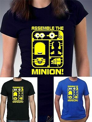 Womens, mens and kids DESPICABLE ME - ASSEMBLE THE MINION  T-shirt