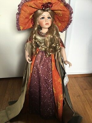 Florence Collection Porcelain Doll Stunning Collectable Victorian Classic. Rare.