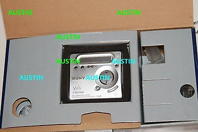 Sony Mz G755 Minidisc Player Recorder With Sony Microphone