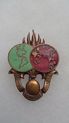 french foreign legion DCRE badge arthus bertrand 1947 type 1