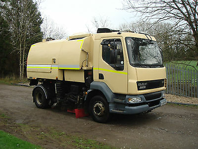 Daf Lf Johnston 600 Dual Road Sweeper