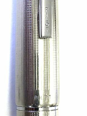 PILOT 14-K 585 Manifold silver slit  good condition from Japan