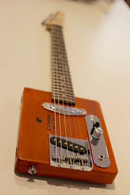 Cigar Box Electric Guitar 6 String - Preorder