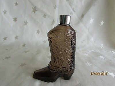 Vintage Avon Wild Country Boot Bottle