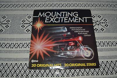 "MOUNTING EXCITEMENT- 20 Original Hits- 12"" Vinyl LP"