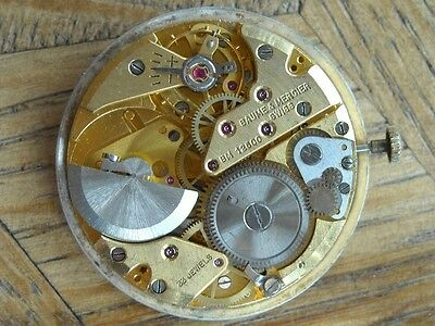 BAUME MERCIER 12600  Automatic microrotor Movement  Cal. Buren 1006 for parts.