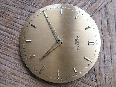 UNIVERSAL GENEVE Dial and hands for CAL. 139