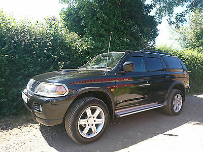 2003 Mitsubishi shogun sport warrior 2.5td low miles leather service history