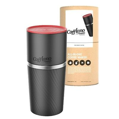 Cafflano Klassic – Black - All in one coffee maker