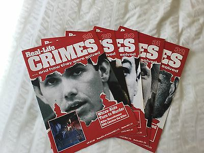 5 X Real Life Crimes Magazine Issues 28 29 30 31 And 32