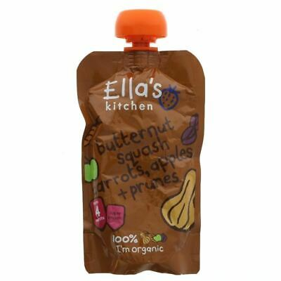 Ella's Kitchen | Butternut Squash, Carrot | 1 x 120g