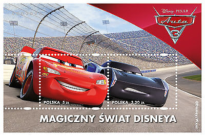 Poland The magical Disney world CARS 3 - 2017