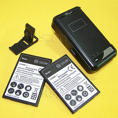 3420mAh Rechargeable Battery Travel Charger Bracket f MetroPCS LG K20 Plus MP260