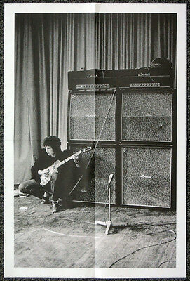 Eric Clapton Cream 1967 Concert Marshall Amps Soundcheck Poster . Not Cd Dvd