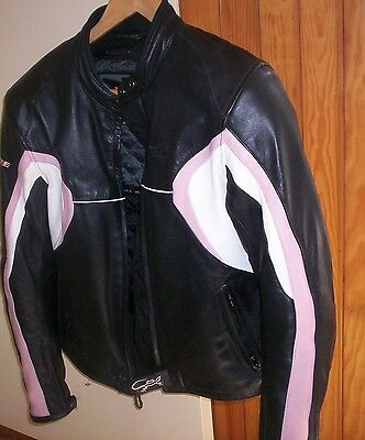 blouson moto cuir femme all one taille m