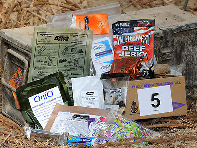 Single Meal British  Army  Ration Pack