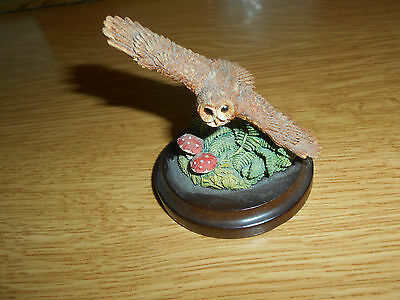 Country Artist Tawny Owl figurine