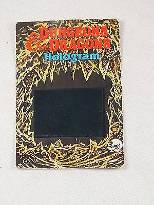 Dungeons & Dragons Hologram Monster Card - 1986 TSR Citadel Miniatures