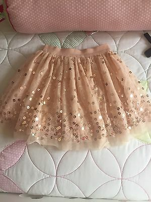 Girls Sparkly Skirt Age 6-7