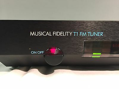 Musical Fidelity Model  T1 FM  Tuner Very Rare