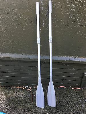 Quicksilver Marine Inflatable Boat Oars - 1.6m