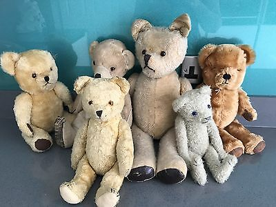 A Group of antique Teddy Bears