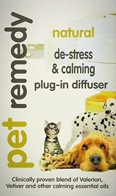 *BEST Pet Stress Anxiety Calming Oils Plug-In Diffuser, Dog Cat Birds Horses NEW