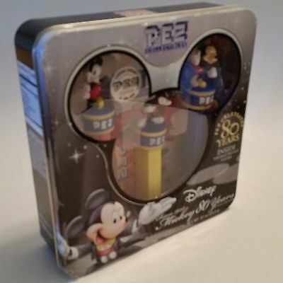 Pez Candy Disney Mickey Mouse collectors tin sealed 2007