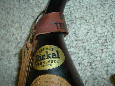 George Dickel EMPTY Tennessee Souvenir Bottle First Bottling 1964