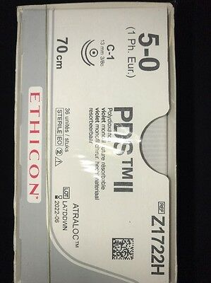 Nahtmaterial Ethicon PDS II,5-0,Z1722H