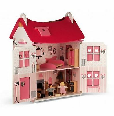 JANOD DOLLS HOUSE with Furniture - FREE Delivery Available