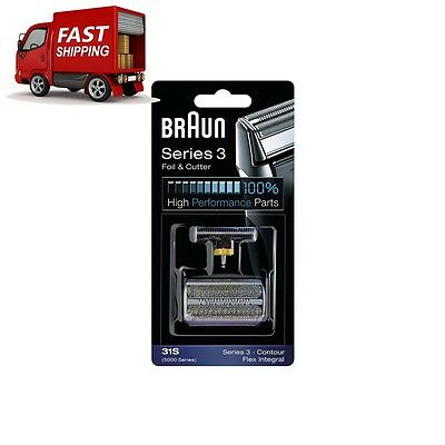 Braun Series 3 Electric Shaver Replacement Foil Cartridge, 31S COMPATIBLE SERIE3