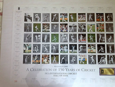 Large Cricket Print - The International Hall Of Fame