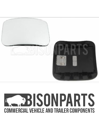 *Fits Mercedes Truck Axor & Actros Wide Angle Mirror Glass Rh & Lh Bp116-365