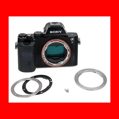 Fotodiox TOUGH E-Mount Replacement Lens Mount for Sony a7 a7r NEX a6000