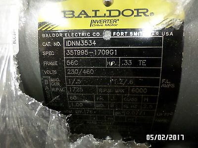 Baldor IDNM3534 MOTOR INVENTORY CLEARANCE!!!!!