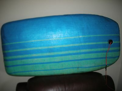 "body board size 40""x  19""for fun in the waves"