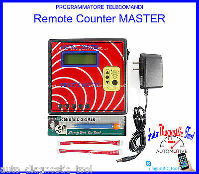 Digital Counter Master Duplicatore Telecomandi Frequenzimetro Remote Master