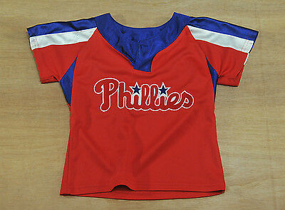 Philadelphia Phillies - Kids 2T / 2 years old - Majestic - MLB Baseball Jersey