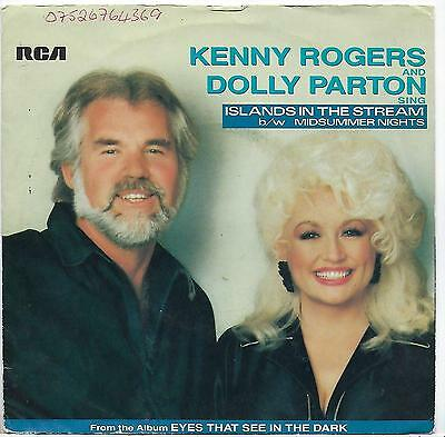 """Kenny Rogers - Islands In The Stream - 7"""" Single"""