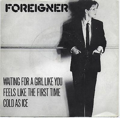 "Foreigner - Waiting For A Girl Like You - 7"" Single"
