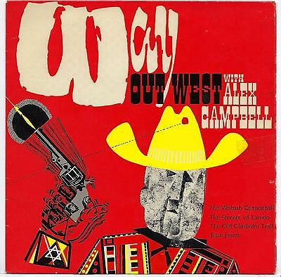 "Alex Campbell - Way Out West - 7"" Single"