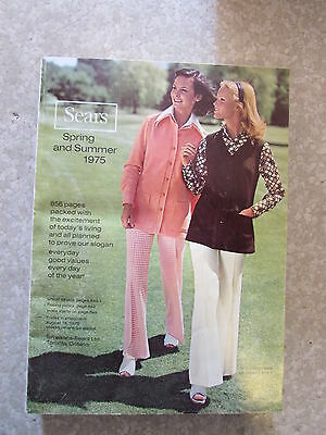 SIMPSON SEARS Spring Summer 1975 Catalog Department Store Canada Book Good