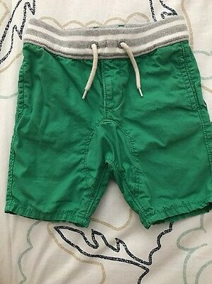 Baby Gap Boy Green Shorts 18-24 Months